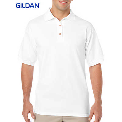 Gildan Dryblend Adult Jersey Sport Shirt White 8800_WHITE_GILD